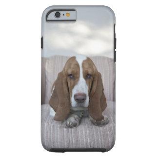 Basset Hound Funda Resistente iPhone 6