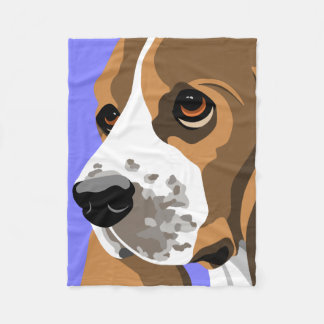 Basset Hound Gifts Fleece Blanket