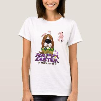 Basset Hound Happy Easter T-Shirt