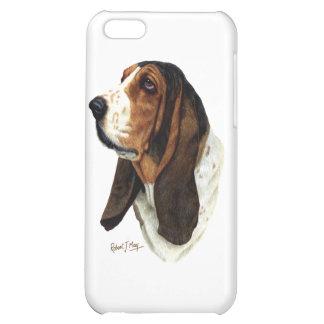 Basset Hound Head 1 Case For iPhone 5C