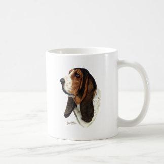 Basset Hound Head 1 Coffee Mug