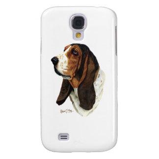 Basset Hound Head 1 Galaxy S4 Cover