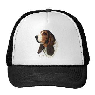 Basset Hound Head 1 Hat