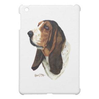 Basset Hound Head 1 iPad Mini Covers