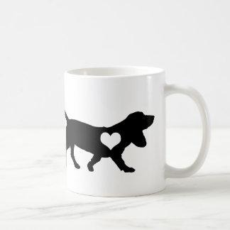 Basset Hound Heart Mug
