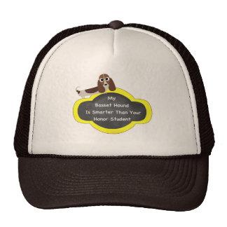 Basset Hound Honor Student Trucker Hat