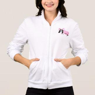 Basset Hound In Pink Bunny Suit Jacket