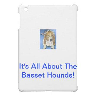 Basset Hound iPad Mini Cases