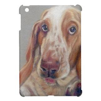 Basset hound iPad mini cover