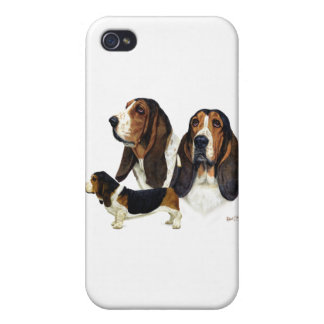 Basset Hound iPhone 4 Cover