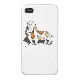 Basset Hound Case For iPhone 4