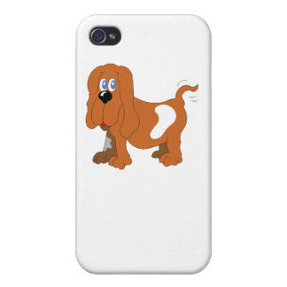 Basset Hound Covers For iPhone 4