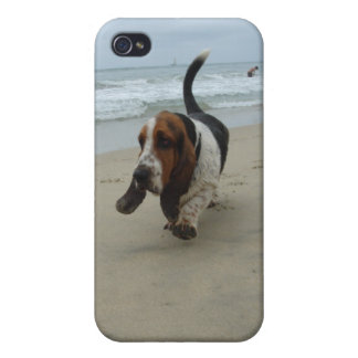 Basset Hound Cases For iPhone 4