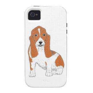 Basset Hound iPhone Cases iPhone 4 Cases
