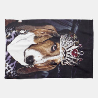 Basset Hound Kitchen Towel at Zazzle