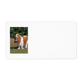 Basset hound labels