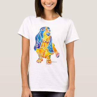 Basset Hound Ladies Shirt