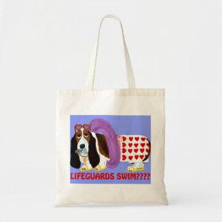 Basset Hound Lifeguard Canvas Bag