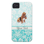 Basset Hound; Lindo iPhone 4 Protector