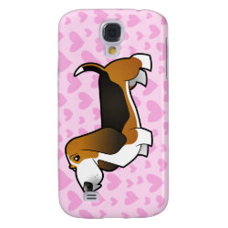 Case-Mate Barely There Samsung Galaxy S4 Case with Basset Hound Phone Cases design
