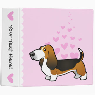 Basset Hound Love Binder