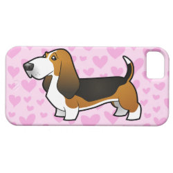 Basset Hound Love iPhone SE/5/5s Case