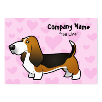 Basset Hound Love Large Business Card