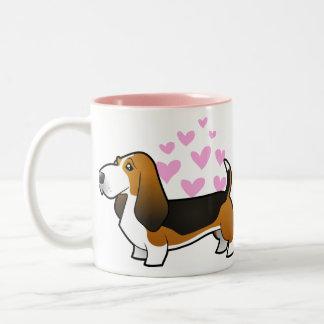Basset Hound Love Mug