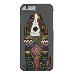 Case-Mate Barely There iPhone 6 Case with Basset Hound Phone Cases design