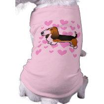 Basset Hound Love T-Shirt