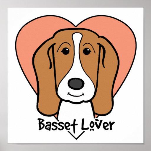 Basset Hound Lover Poster