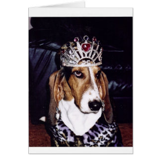 Basset Hound Lover's Paradise Card