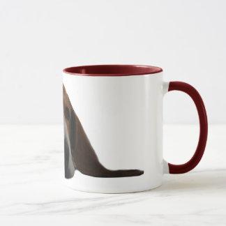 Basset Hound lying down Mug