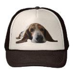 Basset Hound lying down Trucker Hat