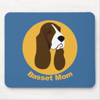 Basset Hound Mom Mouse Pad
