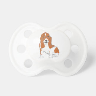 Basset Hound multiple Products Pacifier