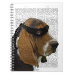 Basset Hound Ninja Notebook