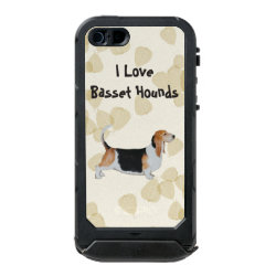 Incipio Feather Shine iPhone 5/5s Case with Basset Hound Phone Cases design