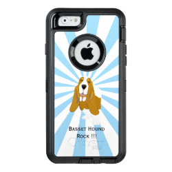 OtterBox Symmetry iPhone 6/6s Case with Basset Hound Phone Cases design