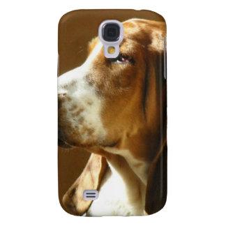 Basset Hound Photo Galaxy S4 Covers