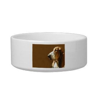 Basset Hound Photo Pet Bowl Cat Water Bowl