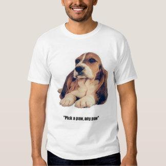 Basset Hound, Pick a Paw Shirt