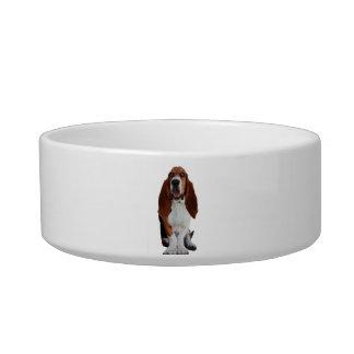 Basset Hound Picture Pet Bowl Cat Bowls