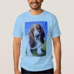Basset Hound Picture T-shirt