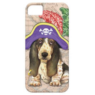 Basset Hound Pirate iPhone SE/5/5s Case