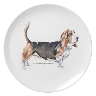 Basset Hound Plate