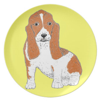 Basset Hound plates & multiple Products