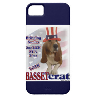 Basset Hound Political Humor iPhone SE/5/5s Case