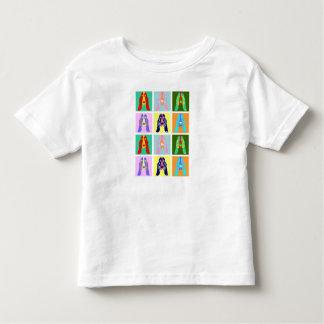 Basset Hound Pop Art Toddler T-shirt