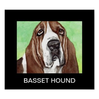 Basset Hound Posters